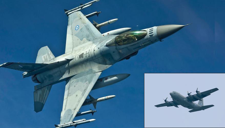 Greek military aircraft