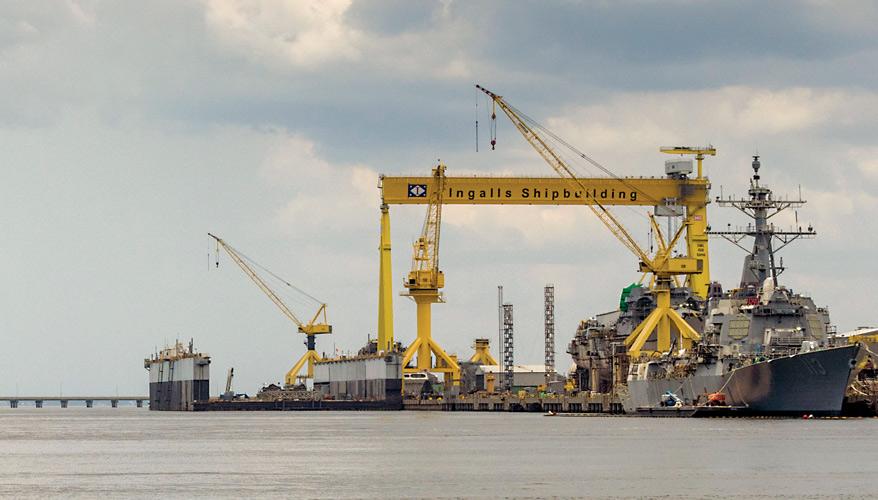 Navy Shipbuilders Prepared for Proposed Fleet Buildup