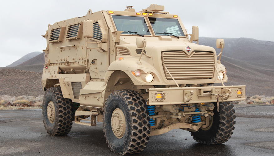 U.S. Military Trucks Popular With Overseas Customers