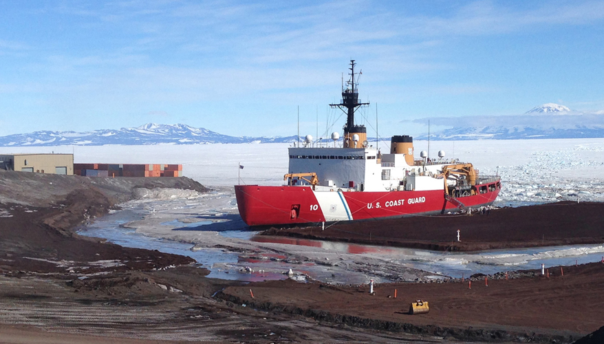 Coast Guard Awards Icebreaker Studies
