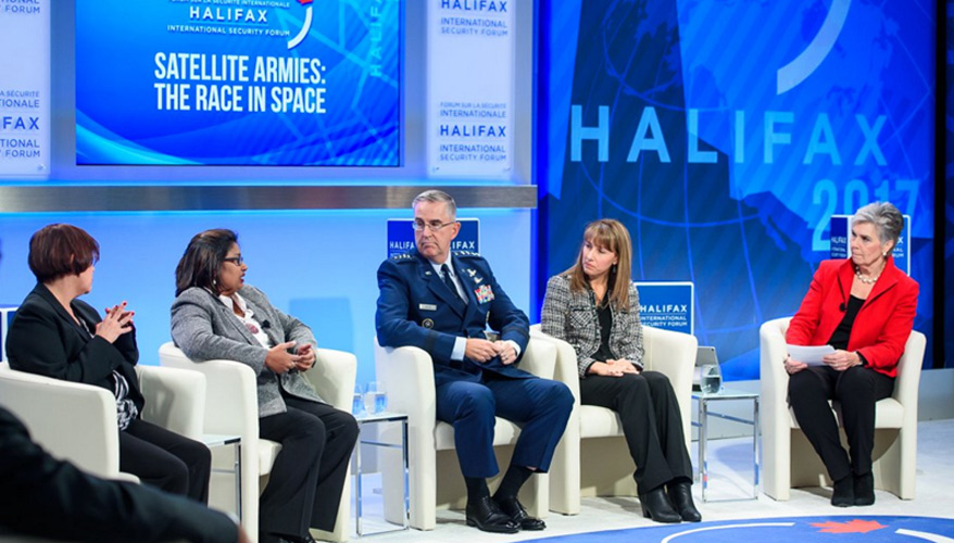Head of Strategic Command Seeks New Solutions for Congested Space