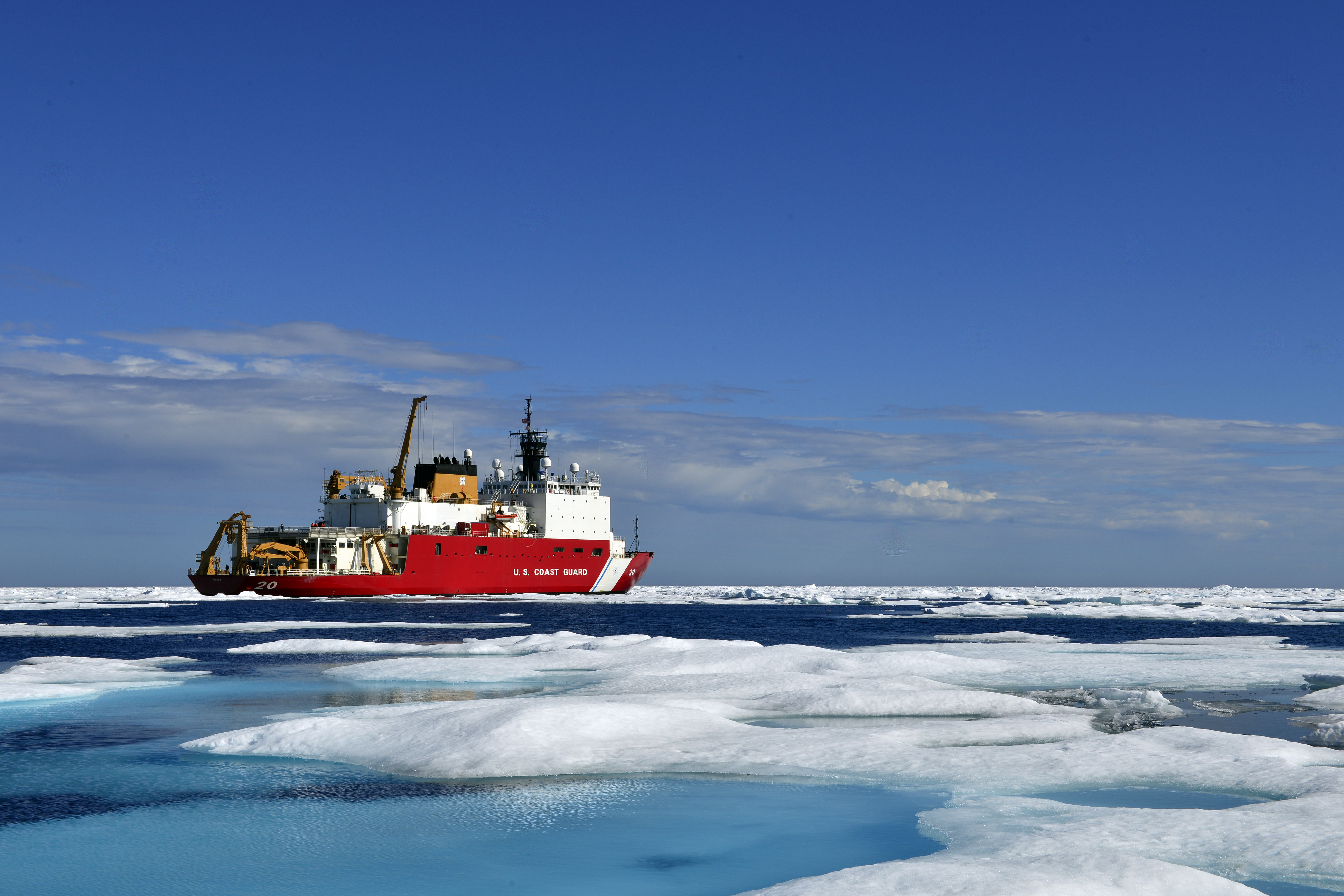 Coast Guard Leaders Are Swinging for the Fences