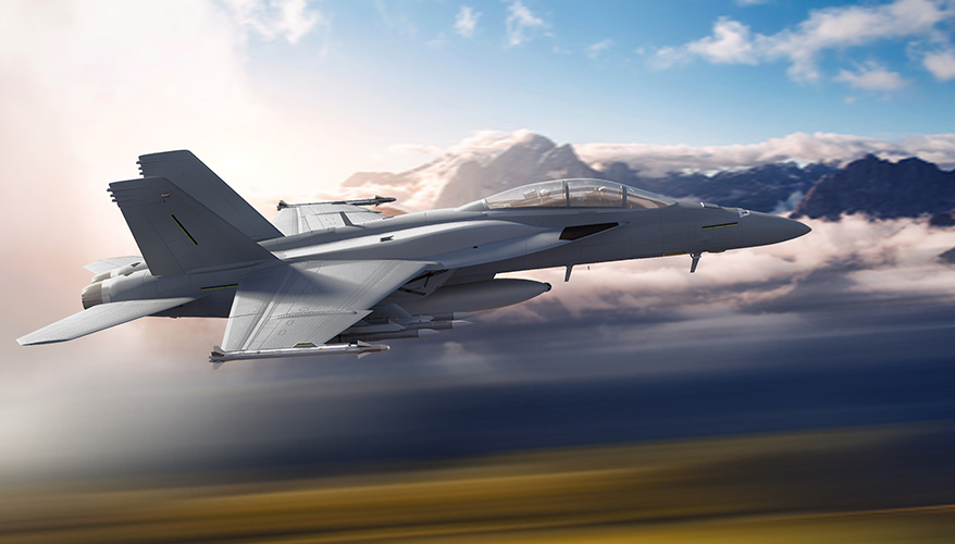 boeing pursues new customers with super hornet upgrades