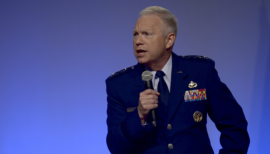 Space Center Commander Wants More Interoperable Systems