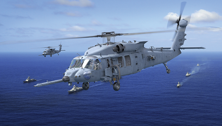 Concept Art For The Hh 60w Combat Rescue Helicopter