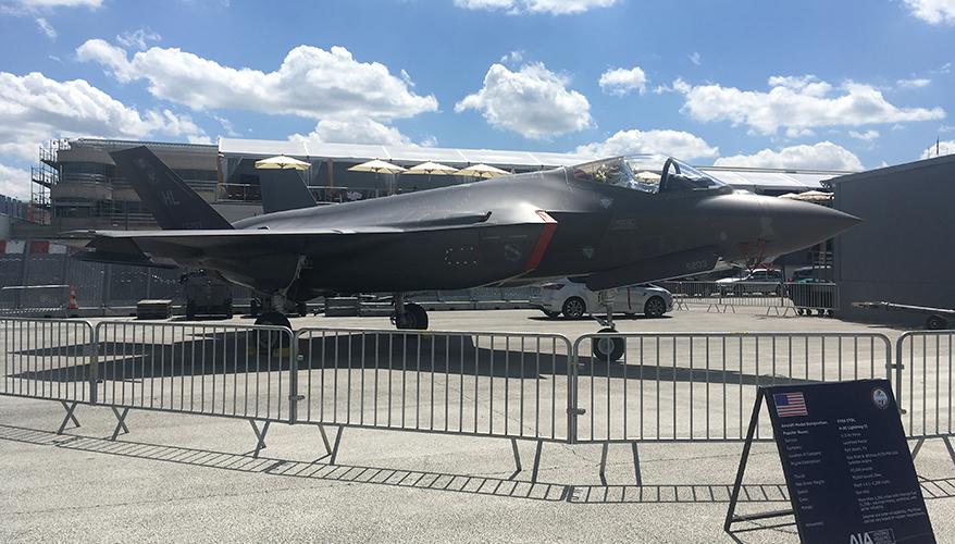 NEWS FROM PARIS AIR SHOW: Lockheed Planning Major Increase