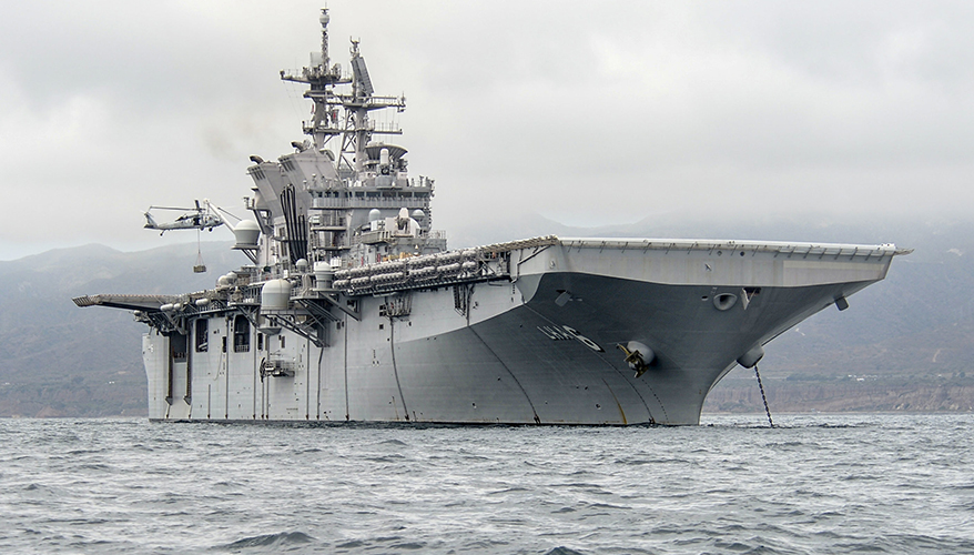 MODERN DAY MARINE NEWS: Navy May Use Well Decks to Launch Drones