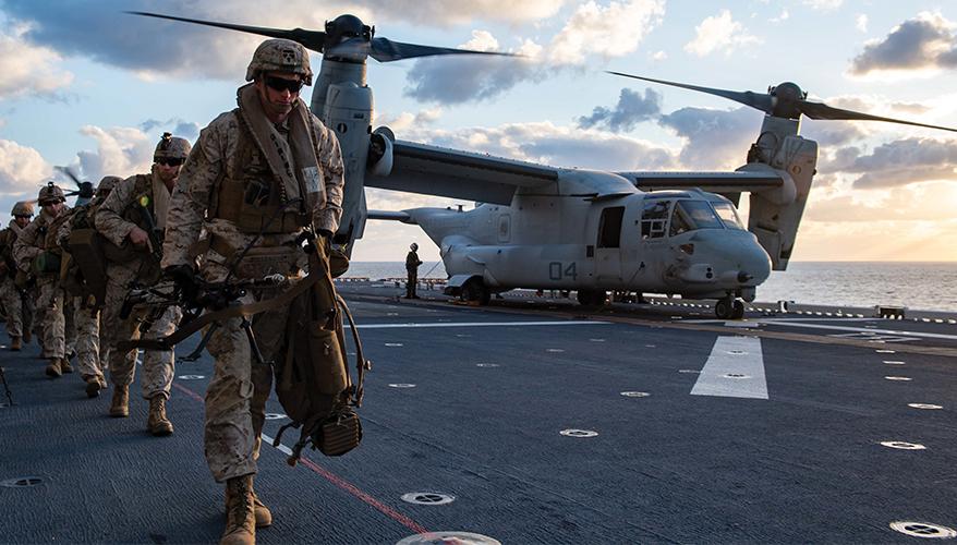 Navy, Marine Corps Seek Tighter Integration