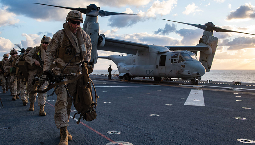 Navy and Marine Corps Seek Tighter Integration