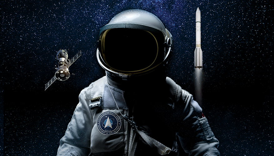 - cover astronaut flat - Space Force Technology Hub Making Strides